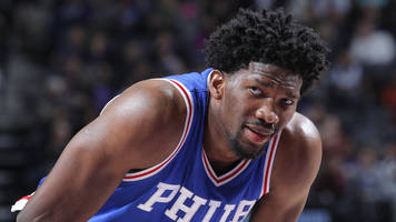 joel embiid got enough fan votes to be a starter in the all-star game under old rules