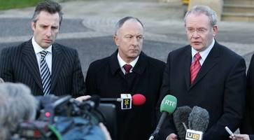 ian paisley: my dad prayed regularly with martin mcguinness... and the first time we met he laughed when i made a quip about balaclavas
