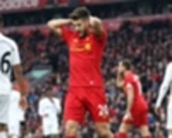 no laughing matter as liverpool's title dreams start turning into dust