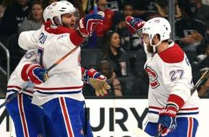 Montreal Canadiens Three Stars vs New Jersey Devils