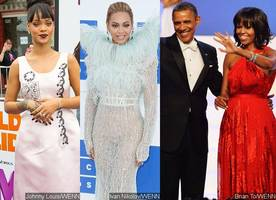 Rihanna, Beyonce and More Thank Barack and Michelle Obama With Adorable Posts