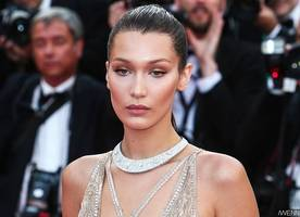 Bella Hadid Goes Braless in Completely Sheer Top. See the Eye-Popping Pics