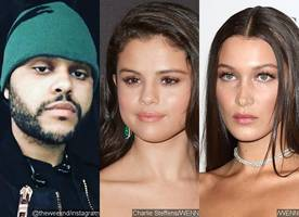 The Weeknd Reunites With Selena Gomez at a Club After Running Into Ex Bella Hadid