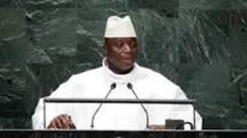 Gambia's defeated leader Yahya Jammeh agrees to relinquish power, leave