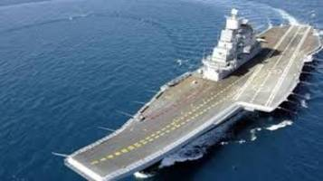 india's biggest aircraft carrier ship ins vikramaditya first to have atm onboard