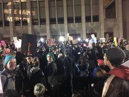 seattle protest shooting: 1 wounded at uw as demonstrators shout down right-wing speaker
