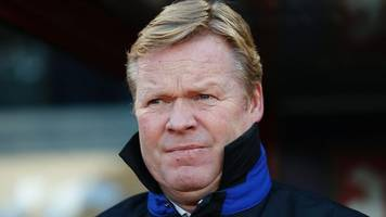 crystal palace 0-1 everton: 'well deserved' win delights ronald koeman
