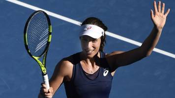 konta hails family for success - watch five best shots