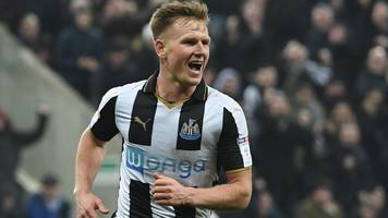 newcastle thrash rotherham to top championship