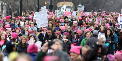 the national, tegan and sara, carrie brownstein, green day, more participate in women's marches