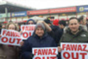 more than 1,000 nottingham forest fans stage protest against...