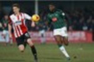 cheltenham town 1 plymouth argyle 2: how the pilgrims' players...