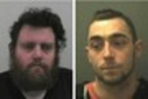 behind bars: criminals locked up by somerset courts this week