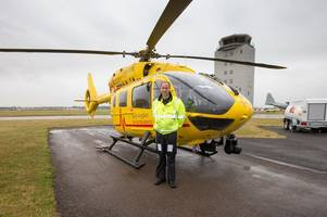 donations to east anglian air ambulance tripled since prince william started work as a pilot