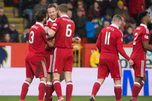 Aberdeen 4 Stranraer 0 as Dons cruise past League One strugglers