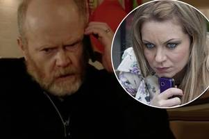 eastenders spoiler: identity of phil mitchell's secret caller revealed - is roxie still alive?