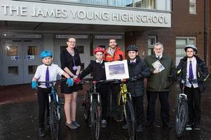 Two West Lothian schools receive top Cycling Scotland awards