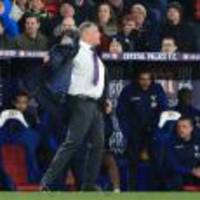 Palace boss Sam Allardyce bemoans Seamus Coleman's 'offside' winner for Everton