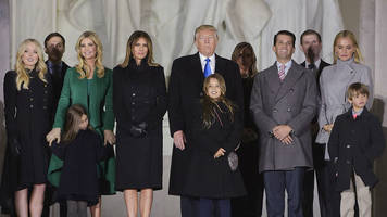 melania, ivanka and barron trump - who is the new first family?