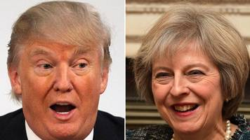 uk pm to meet president trump on friday
