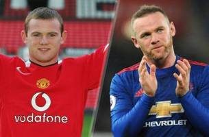 wayne rooney's 10 most memorable moments with manchester united