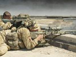 SAS sniper kills THREE ISIS fighters with a single shot