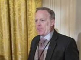 sean spicer's grudge against media dates back to college