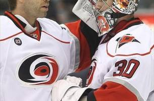carolina hurricanes' blast from the past: sean burke