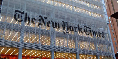how the new york times plays with history