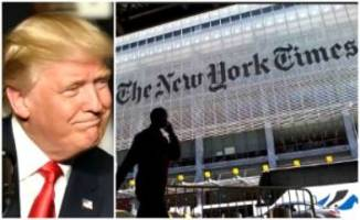 War Between New York Times and President Trump Begins with Scathing Headline