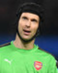 arsenal star petr cech sends message to title rivals chelsea