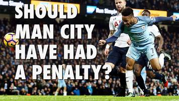 raheem sterling: should manchester city have been given a penalty?