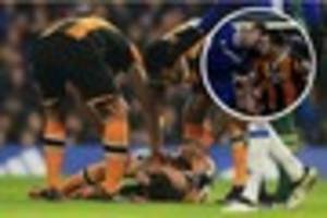 hull city's ryan mason in major trauma unit after suffering...
