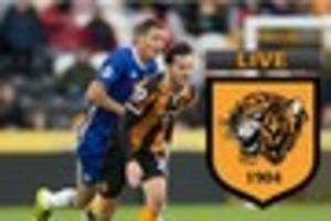 chelsea v hull city live - today's tigers news, match build-up,...