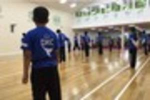 nottingham karate club raises money to pay for classes for syrian...
