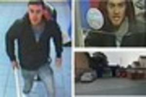 'Give me money': Man with pole tries to rob William Hill...