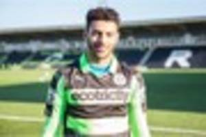 watch: new loan signing from wigan athletic after his debut