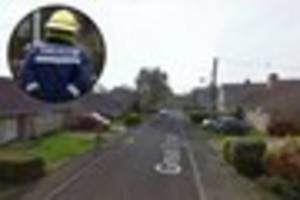 Emergency services called out to scene of kitchen fire in...