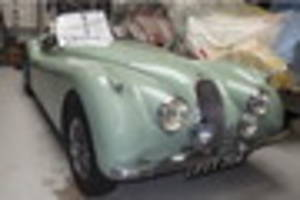 Jaguar XK120 loved by one family since 1953