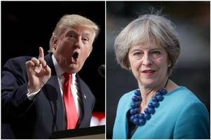 Theresa May will meet Donald Trump and he could be coming to the UK on a state visit