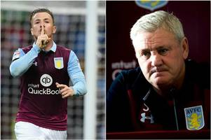 former cardiff city striker ross mccormack missed aston villa training because of faulty electric gates, says steve bruce