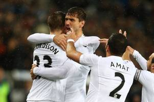 Swansea City receive major transfer window boost with BOTH Gylfi Sigurdsson and Fernando Llorente saying they're ready to stay
