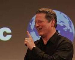 al gore beats the climate drum as trump takes office