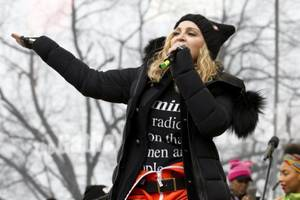 Madonna Criticized for White House Comments During Women's March