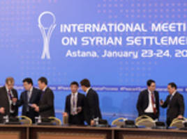 syrian peace talks get off to a bad start in kazakhstan