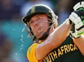 ab de villiers named in south africa's odi squad
