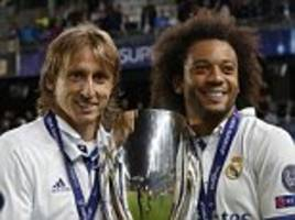 Real Madrid news: Luka Modric and Marcelo injured