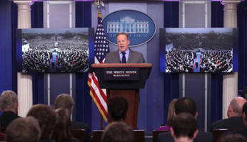 Sean Spicer Gives First Official White House Press Conference - Live Feed