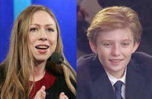 Chelsea Clinton Defends Barron Trump From Online Trolls: Let Him 'Be a Kid'