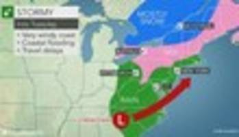 Forecast: Deadly Southern Storm Hits NYC This Afternoon